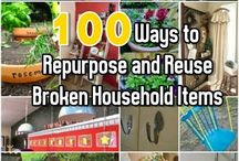 Re-uses & household Tips