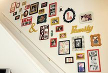 Hanging Pictures Ideas / by Claudia Howe