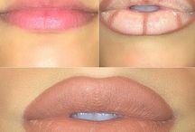 Maquilhagem - Lábios