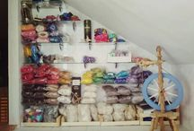 My spinning / My carding, spinning, spindling and spindle making :).