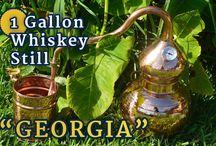 """""""Georgia"""" 1-GALLON WHISKEY STILL"""