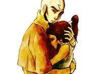 Aang & Korra