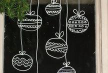 Christmas Windows decoration