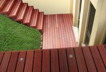decking & swimming pool