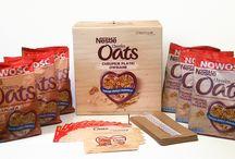 Kampania płatków Nestlé CHEERIOS OATS / Poznaj Nestlé CHEERIOS OATS, pyszne płatki śniadaniowe z pełnoziarnistego owsa.
