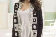 crochet jackets and coats