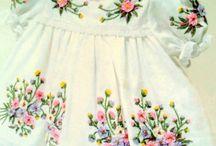 kreasi bordiran pada baju anak balita