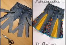 recycled jean projects