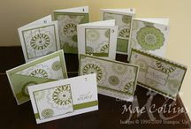 One sheet wonders / Templates for making multiple cards from a single sheet of patterned paper.