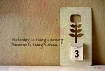 Think Positive / Think positive and positive things will happen