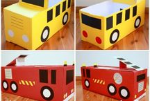 DIY Cardboard Box Crafts