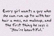 Cute Quotes which makes me want to read over and over again