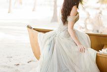 >> Les robes de mariée colorées <<