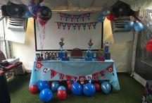 Thomas Theme Birthday Party