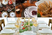 Celebrate Thanksgiving / A collection of tips, recipes, and ideas for the best Turkey Day ever. / by Corelle Dining