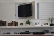 tv com retroprojetor
