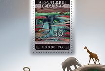 New stamps issue released by STAMPERIJA | No. 435 / GUINEA (Guinée) 01 09 2014 Code: GU14301a-GU14312a
