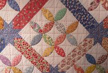 Repro quilts and fabrics