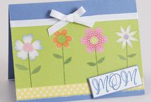 Sweet and Simple Mother's Day Cards... / Mom will appreciate a handmade, one-of-a kind card on her special day. Handmade cards...