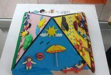 Season projects for kindergarten