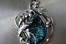Cínované šperky