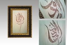Ahşap Yakma Sanatı / Ahşap üzeri yakma ve El Boyama Sanatı