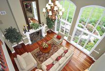 Lovely Living & Family Rooms