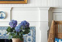 The living room / L'ideale per il relax...tinte tenui e retro'...