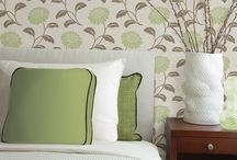 Brewster Wallpaper Design / A collection of Brewster wallpaper patterns and uses. The full Brewster line is available at mahoneswallpapershop.com.