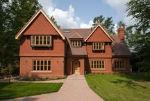 Case Study: Pinewood / Pinewood is a beautiful detached 5 bedroom house set in a generous secluded plot surrounded by mature trees in an established setting. The property is complete with an array of PDS' finest timber windows, timber doors and bespoke joinery