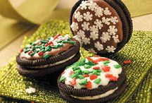 Sandwich Cookies / They're made like a regular sandwich, with two cookies pressed together by a sweet filling. http://www.cookie-elf.com/sandwich-cookies.html