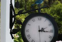 Clocks and Weather Gauges / A great finish of a beautiful garden are the clocks and weather gauges.