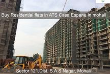 Residential flats in ATS Casa Espana in mohali / Construction in full swing. To book your #flat in the opulent Mediterranean style township, ATS #CasaEspana, Call at : 9888449029