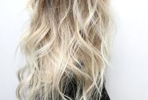 icy ombre hair