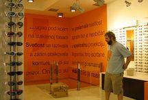 Optical shop / Inside outside design ideas / by Julie Nelson