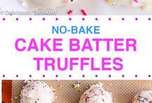 Truffles and Cake Balls
