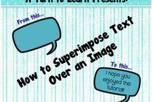 Tech .. How to / by MaryAnn Urbanik