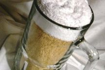 omg, a great gift to MAKE! 9 inch tall beer mug, with 1 hand towel that's beer colored, and 2 white wash cloths! (: such a great idea!