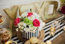 MODERN+BRIGHT / Check out our MODERN+BRIGHT bridal shower decor package! Get all the decor you need to pull off that beautiful Kate Spade inspired look. Package rental available in AZ