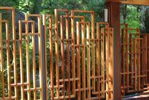 Garden and Landscape Screens / Great design ideas for your screening in your garden.