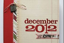 December Daily / Ideas on how to scrap everything Scrap-worthy in December / by Nicole Satchell Sheppard