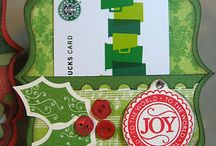 Papercrafts ~ Gift Card Holders / Gift card holder ideas