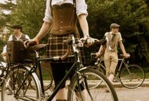 Tweed Fashions  / Tweed  Style Inspiration for your next Tweed Ride or Tweed Run --  Bicycle  Fashions  Styled with Tweed