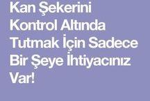 KAN ŞEKERİ KONTROL ALTINDA