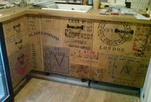 Re-use... Recycle... Repurpose Crates! / Vintage, plastic, metal, wood, homemade, hand-me-down crates... They're the perfect item to DIY with and you can make everything from furniture to storage...
