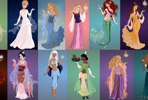 Disney & Ghibli & Others