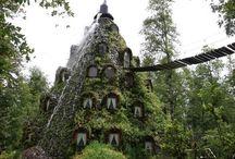 Hoteles curiosos /// Curious hotels / Una selección de los #hoteles más raros del mundo. #hotels #hostel