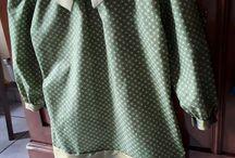 Gros doigts / tout ce que mes petits doigts m'ont aidé à réaliser.  couture, tricot....