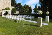 New Venue - Romantic Garden wedding in Dubrovnik, Croatia / If you are looking to have an unforgettable wedding day in a peaceful and tranquil location then our romantic garden wedding ceremony is ideal for you.