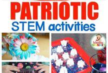 Patriotic STEM Activities